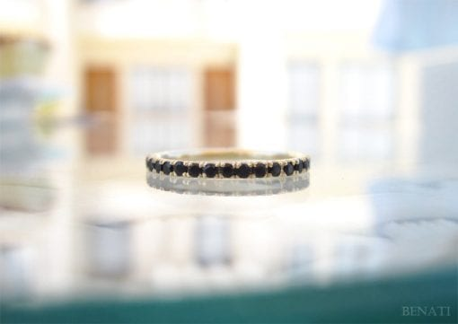 Black Diamond Eternity Band, Black Diamond Eternity Ring
