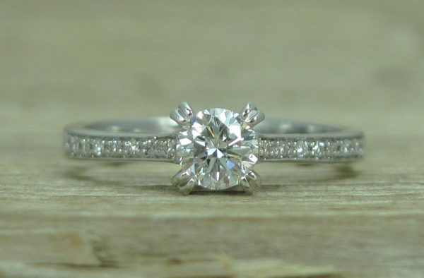 Diamond Engagement Ring, Antique Engagement Ring