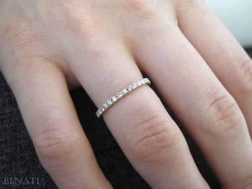Diamond Eternity Ring, Diamond Wedding Band