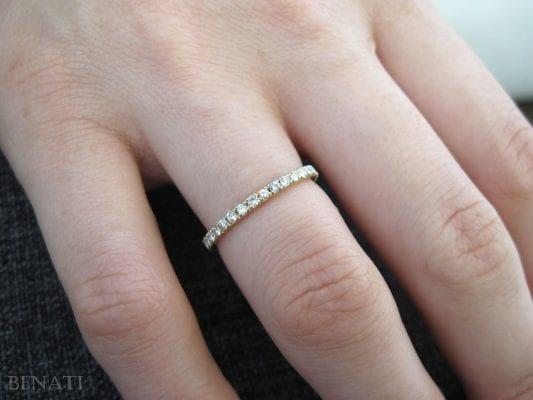 Diamond Eternity Ring, Diamond Wedding Band