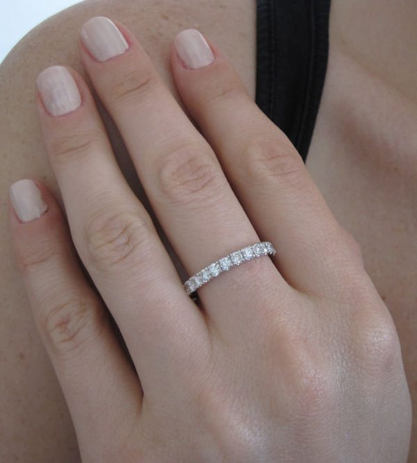 Eternity Band, 1 ct Diamond Eternity Ring