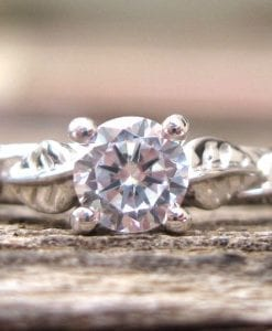 Forever Brilliant Moissanite Engagement Ring, Moissanite Ring