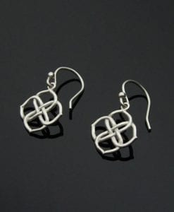 Infinity Knot Earrings, Infinity Earrings