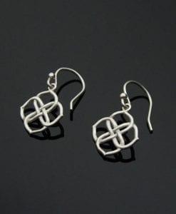 Infinity Knot Earrings, Infinity Earrings