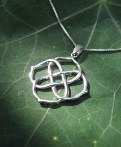 Infinity Knot Pendant, 14k Gold New Designer Infinity Pendant
