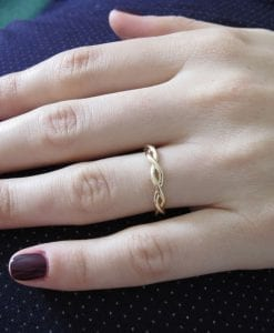 Infinity Wedding Ring, Wedding Infinity Ring