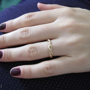 Infinity Wedding Ring, Wedding Infinity Ring