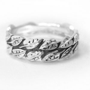 Leaf Wedding Ring, Leaf Ring