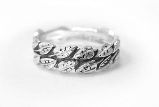Leaf Wedding Ring, Leaf Ring