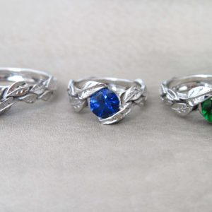 Leaves Engagement Ring, Alternative Engagement Ring