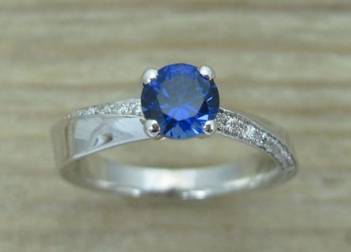 Sapphire  Engagement Ring,  Sapphire Ring