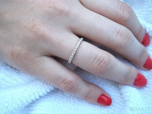 Stackable Diamond Eternity Band, Diamond Eternity Ring