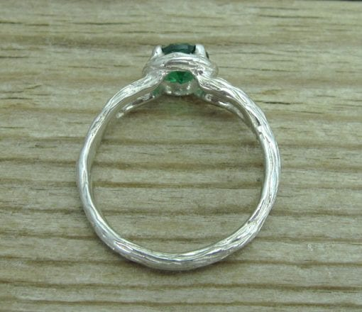 Twig Emerald Engagement Ring, Alternative Engagement Ring