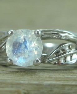 Twig Moonstone Engagement Ring, Moonstone Engagement Ring