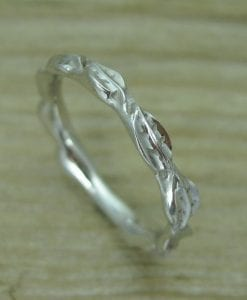 Wedding Leaf Ring, Leaf Wedding Ring
