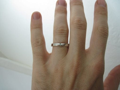Wedding Ring, 4.5mm Mobius Wedding Band