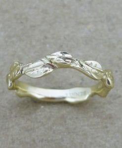 Wedding Ring, Wedding Leaf Ring