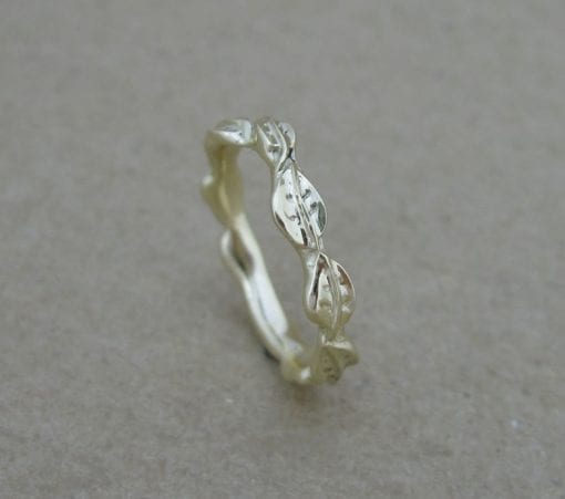 Wedding Ring, Wedding Leaf Ring