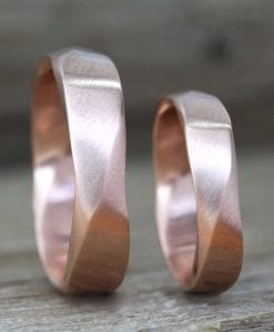 Matching wedding bands, wedding ring set