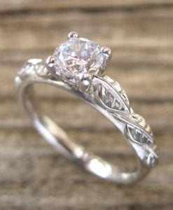 Leaf Engagement Rings