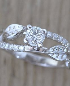 Nature Engagement Ring, Twig Engagement Ring