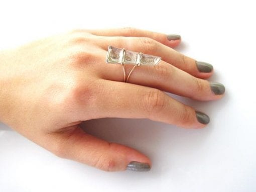 Reppose ring, hand made