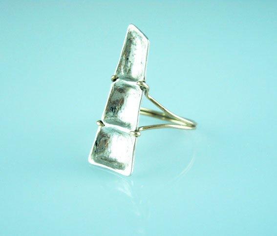 Reppose ring, hand made