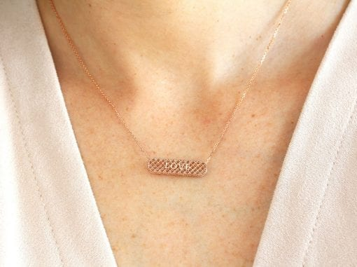 Rose Gold Necklace For Women