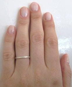 Rose gold twig wedding band, rose gold branch ring