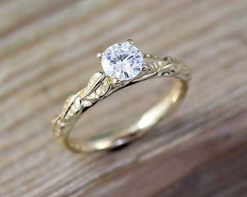Moissanite rings, moissanite engagement rings with the most beautiful designs