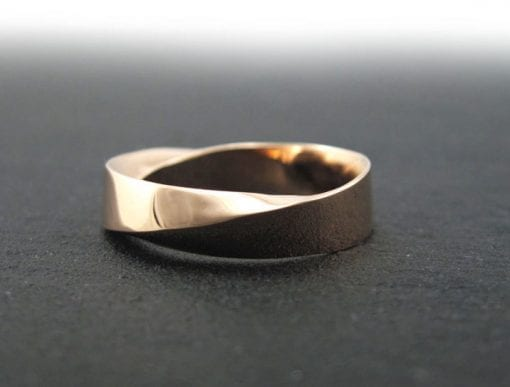6mm mobius wedding band